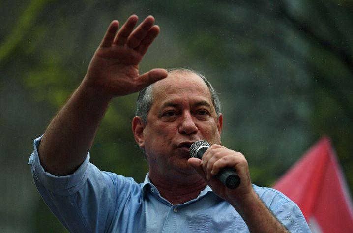 """Ciro Gomes, Kandidat der Mitte-links-Partei """"Partido Democrático Trabalhista"""" (PDT)"""