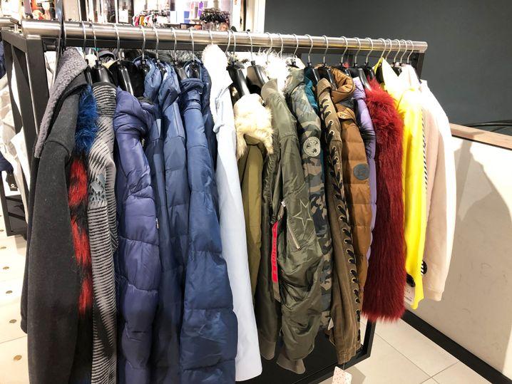 Jacken im Zalando-Laden: Die richtige Zielgruppe