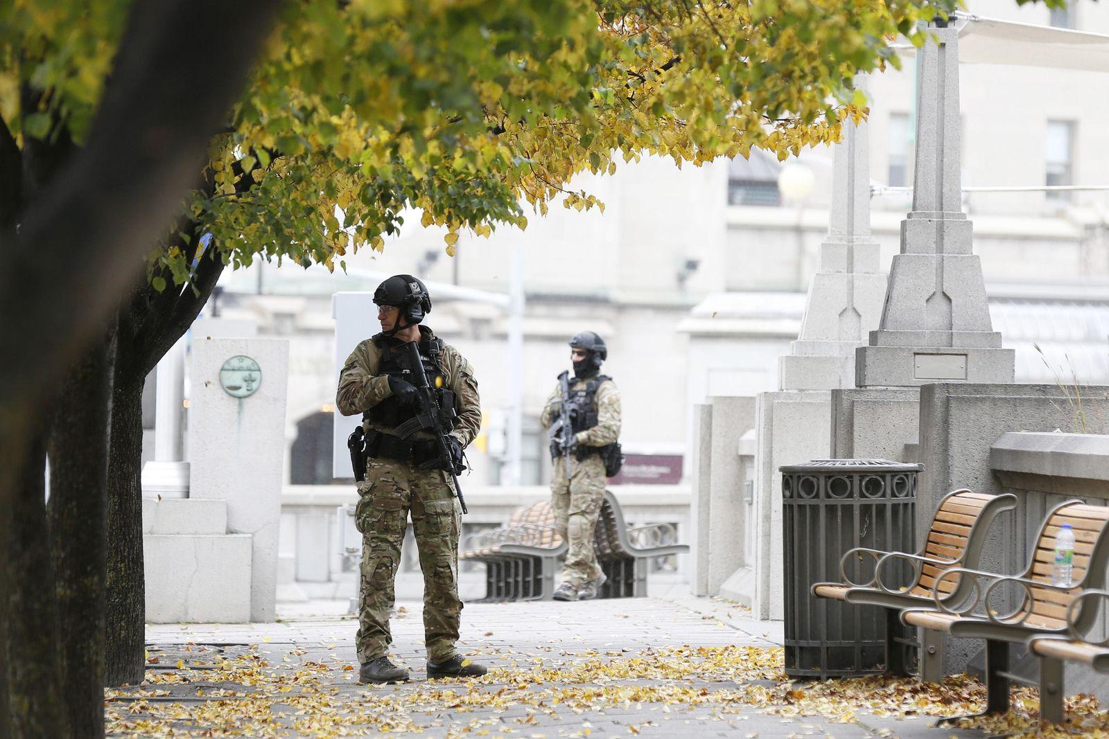 Ottawa Sicherheitsvorkehrung nach Attentat
