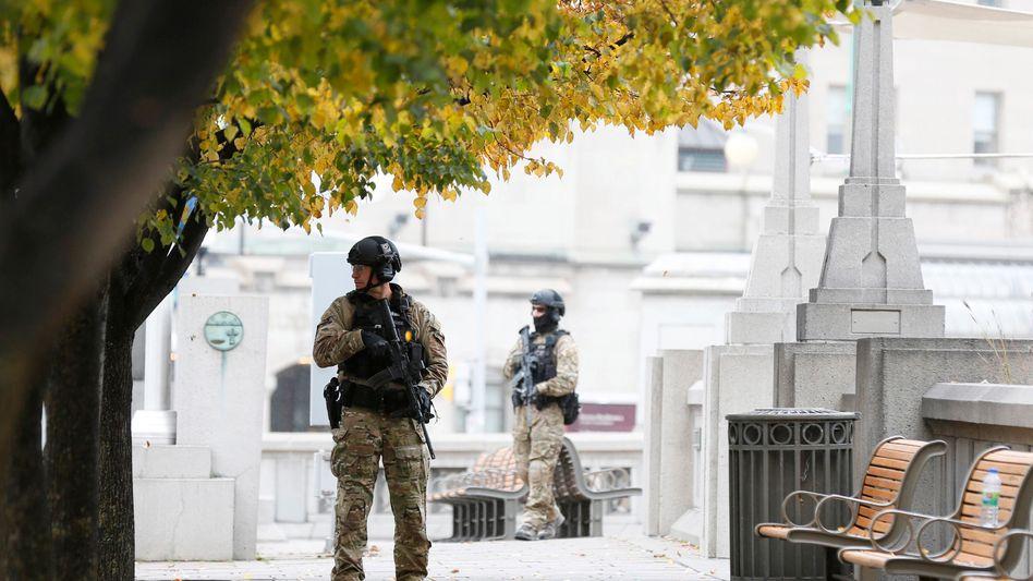 Polizisten nach dem Anschlag in Ottawa: Konflikte entgleisen - wir sind hilflos