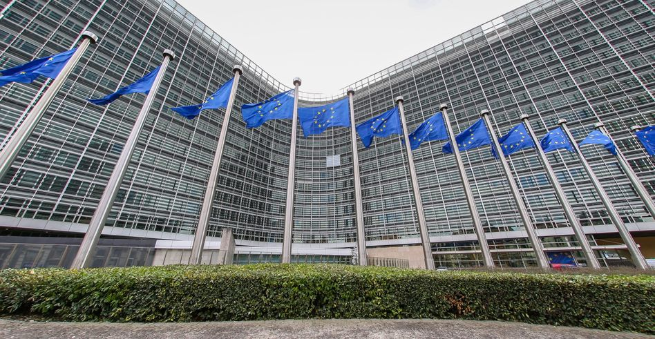 Gebäude der EU-Kommission in Brüssel: Vier Posten werden übergangsweise besetzt