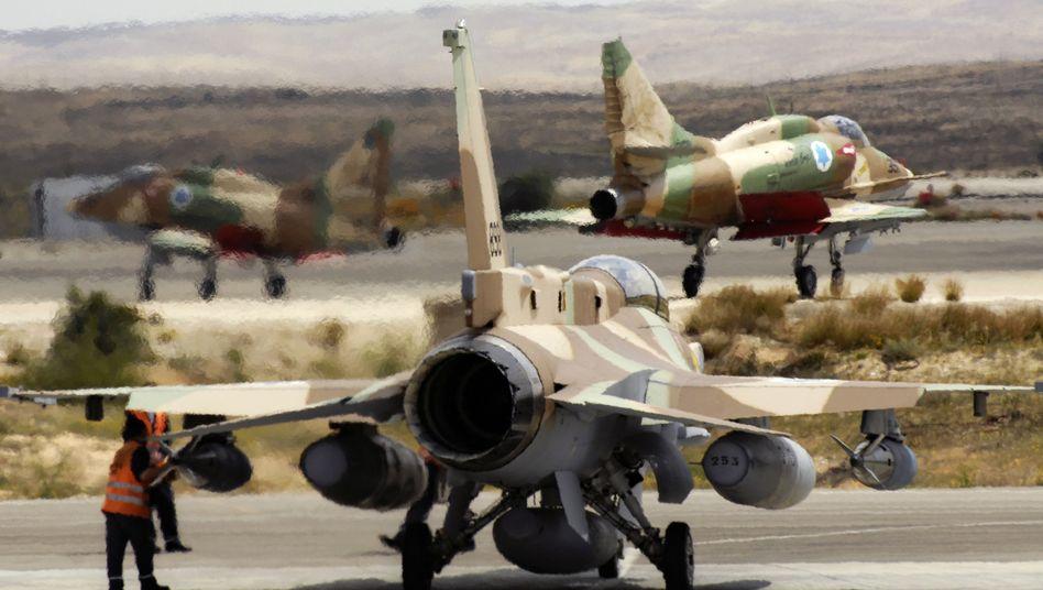 Israelische Kampfjets in Position: Bereit zum Angriff auf Iran ab April?