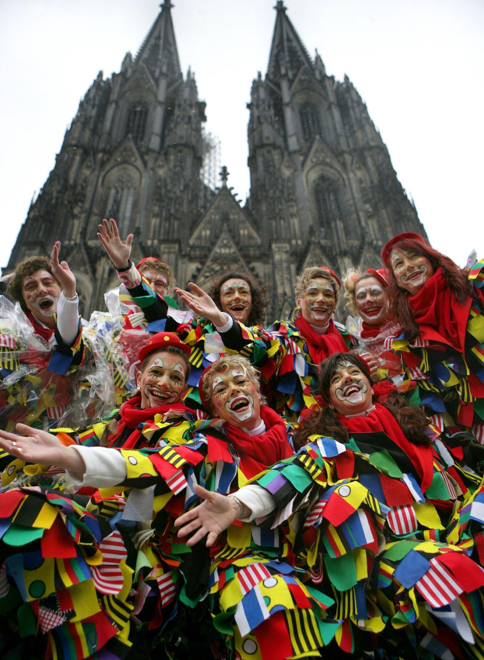 NUR FÜR SPAM Karneval in Köln