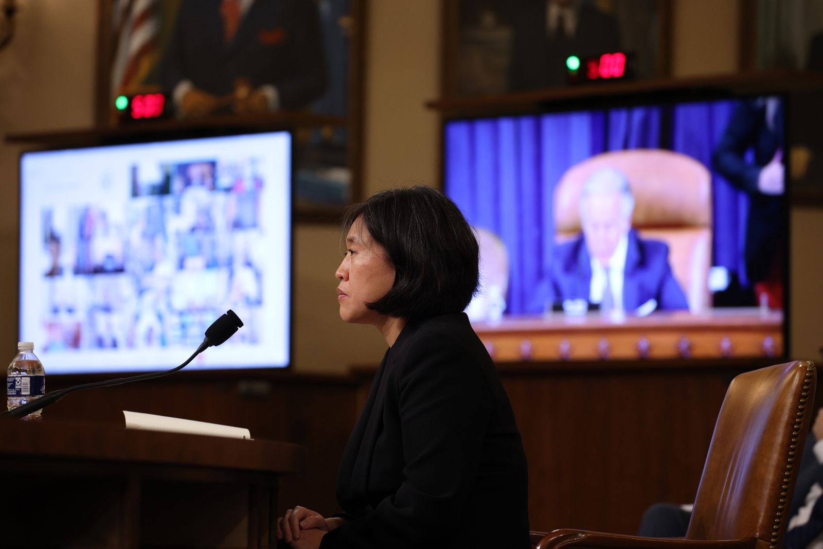 U.S. Trade Rep. Tai Testifies Before House Ways And Means Committee