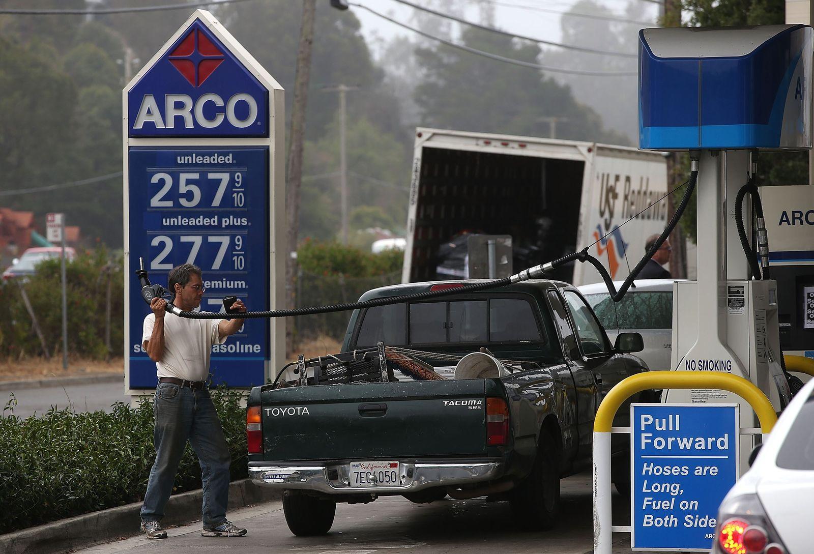 Tankstelle / Benzinpreis / USA
