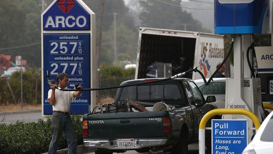 Tankstelle in Kalifornien (Archivbild)