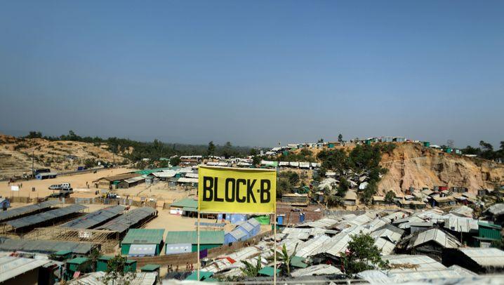 Rohingya: Alltag im Plastikzelt