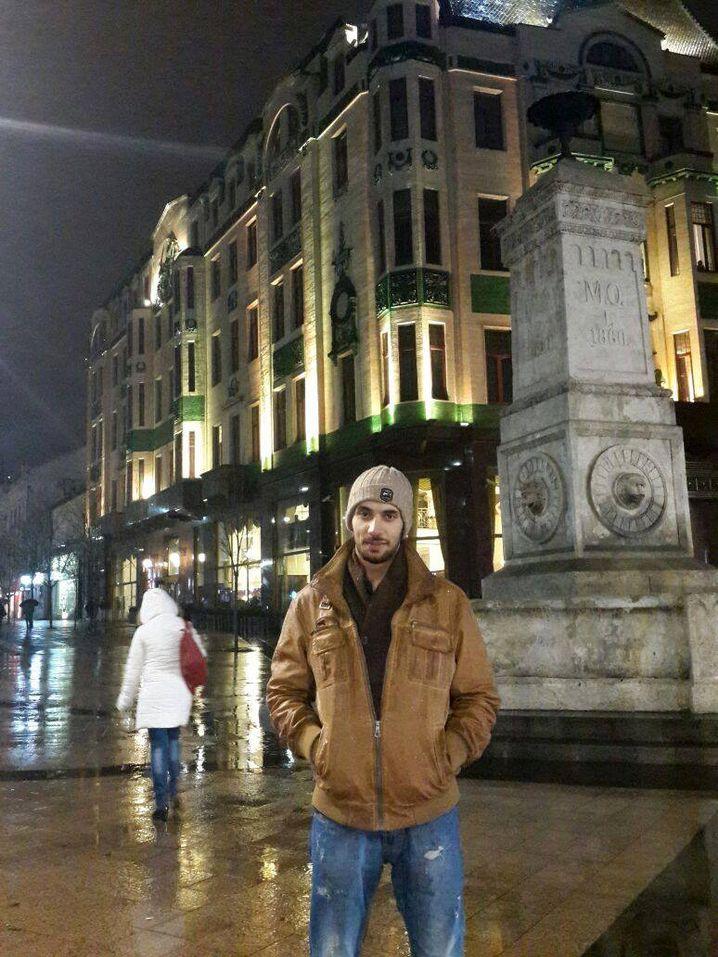 Ahmad U. in Belgrad, ein Zwischenstopp auf dem Weg nach Norden