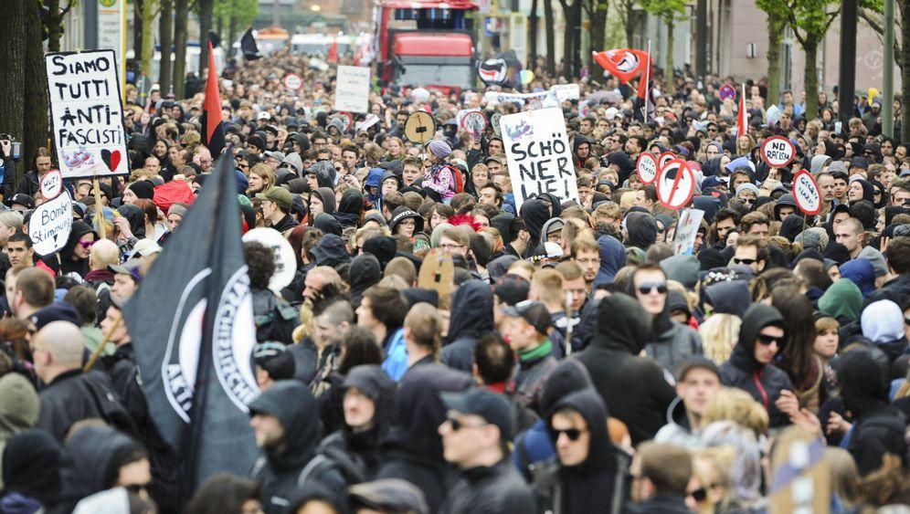 Walpurgisnacht: Demo, aber kaum Gewalt