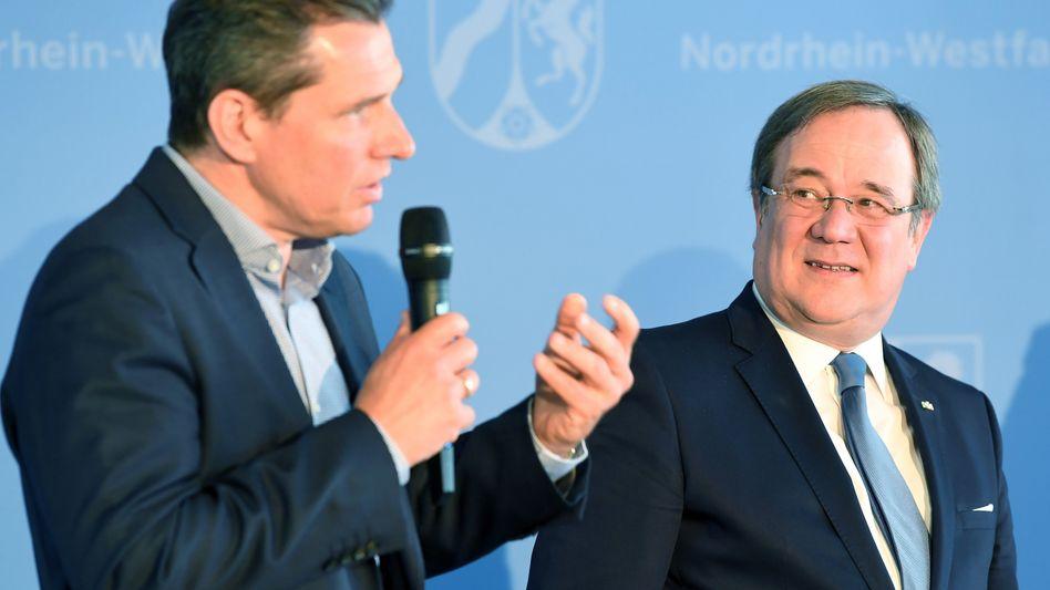 Michael Mronz (links) und Armin Laschet