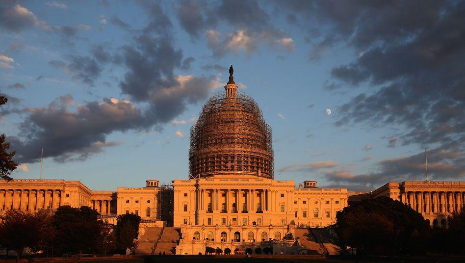 """US-Kapitol in Washington, DC (Archivfoto): """"Vertrauen des Volkes zurückgewinnen"""""""