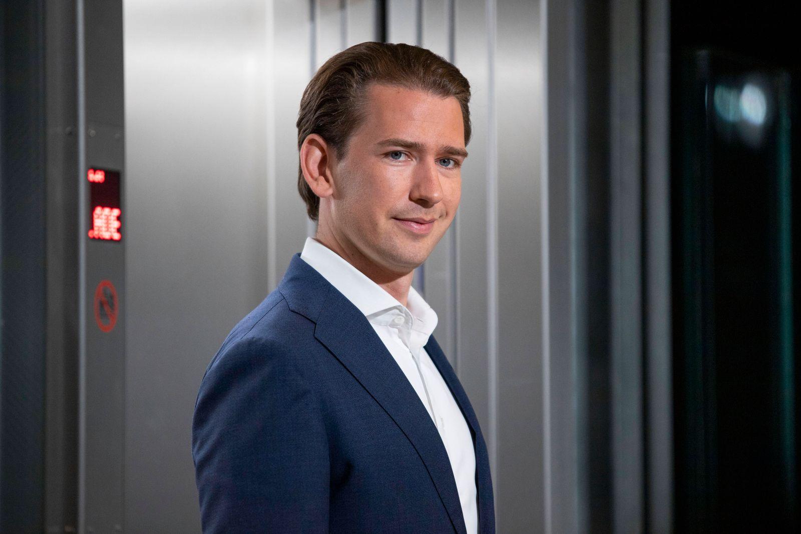 ORF Sommergespräche: Sebastian Kurz *** ORF summer talks: Sebastian Kurz In den ORF Sommergesprächen stellen sich Polit