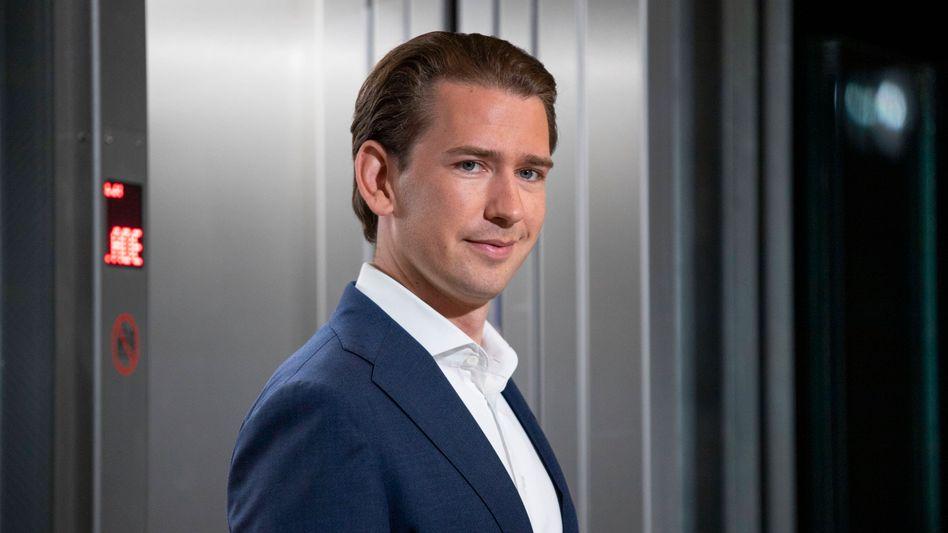 Österreichs Kanzler Sebastian Kurz