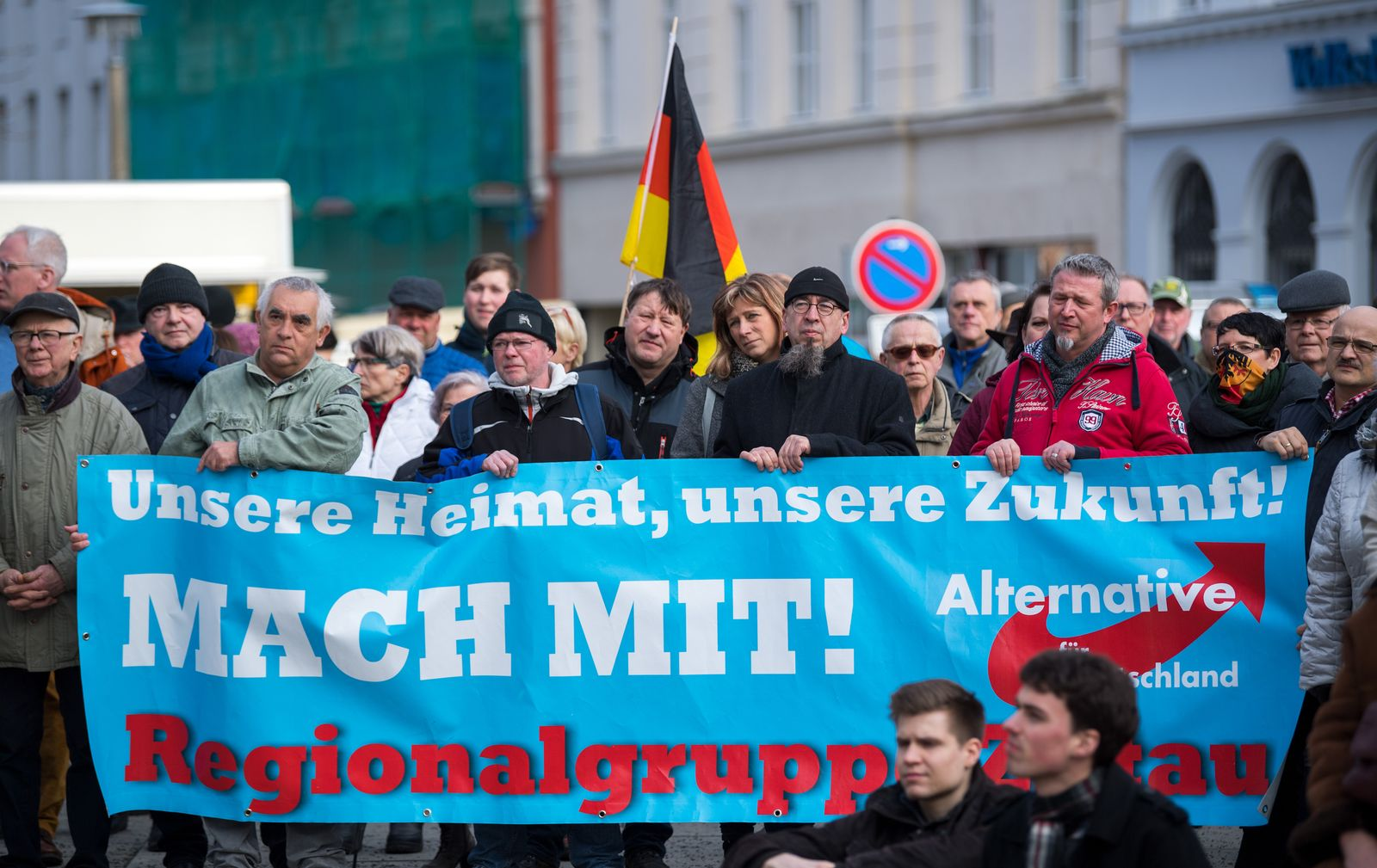 AfD/ Ddemonstrationen