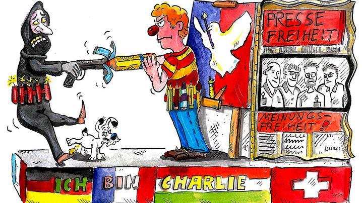 """Kölner Rosenmontagszug: Verzicht auf """"Charlie Hebdo""""-Wagen"""