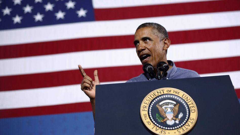 Giftgasangriff in Syrien: Obama geht auf Kriegskurs
