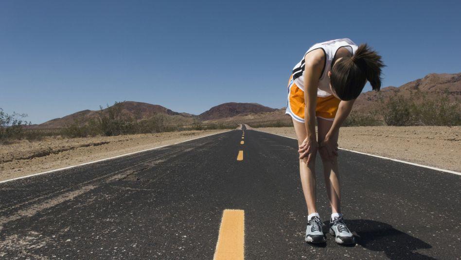 Sportlerin: Bei Frauen verändert sich das Herz durch Ausdauersport weniger als bei Männern