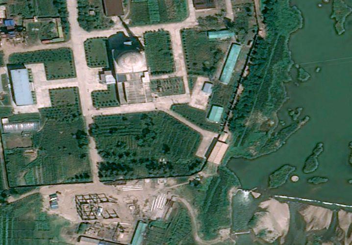 Der Leichtwasserreaktor in Yongbyon