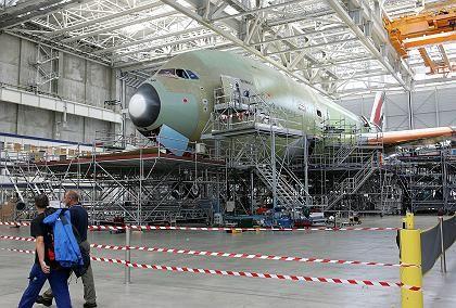 """A380 in Toulouse: """"Bund und Länder haben wesentliche Beiträge geleistet"""""""