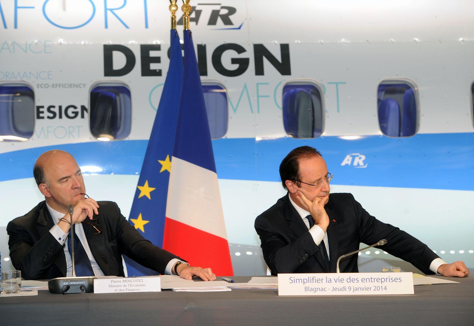 Hollande / Moscovici