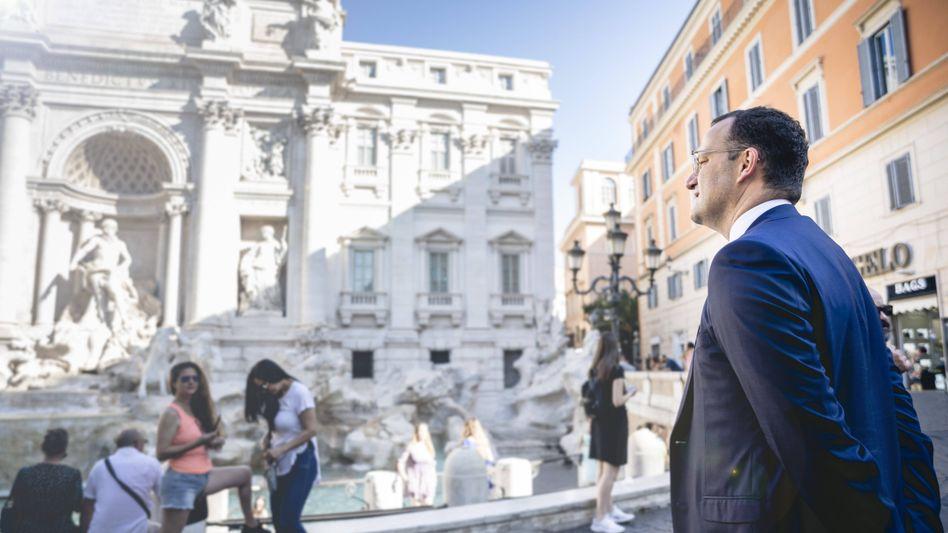 Jens Spahn in Rom: »Die Balance zu halten, ist schwierig«