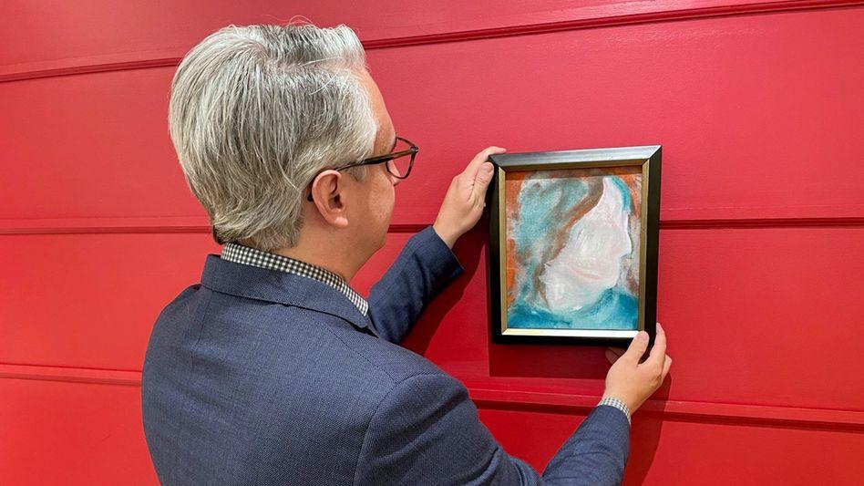 Bowie-Gemälde bei Auktion