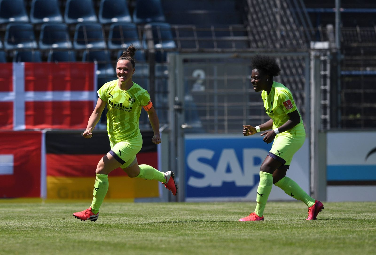 Fussball, Frauen, Saison 2019/2020, DFB-Pokal (Viertelfinale), 1. FFC Turbine Potsdam - SGS Essen, Marina Hegering (SGS