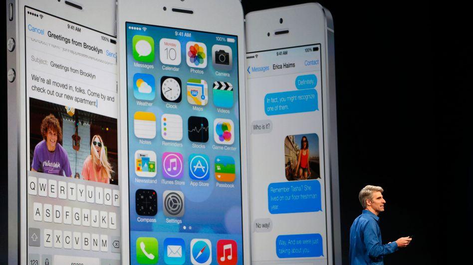 Neues Betriebssystem für iPad und iPhone: Apple befreit iOS vom Filz
