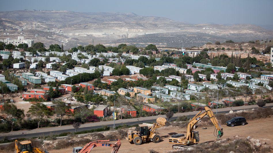 Blick auf Ariel im Westjordanland (Bild von 2010): Kontroverse um neue Wohnungen