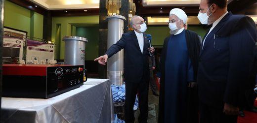 Natans: Iran meldet Zwischenfall in Atomanlage