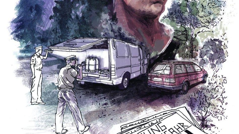 Ort des versuchten Anschlags 1995 in Berlin, mutmaßlicher Täter Thomas Walter