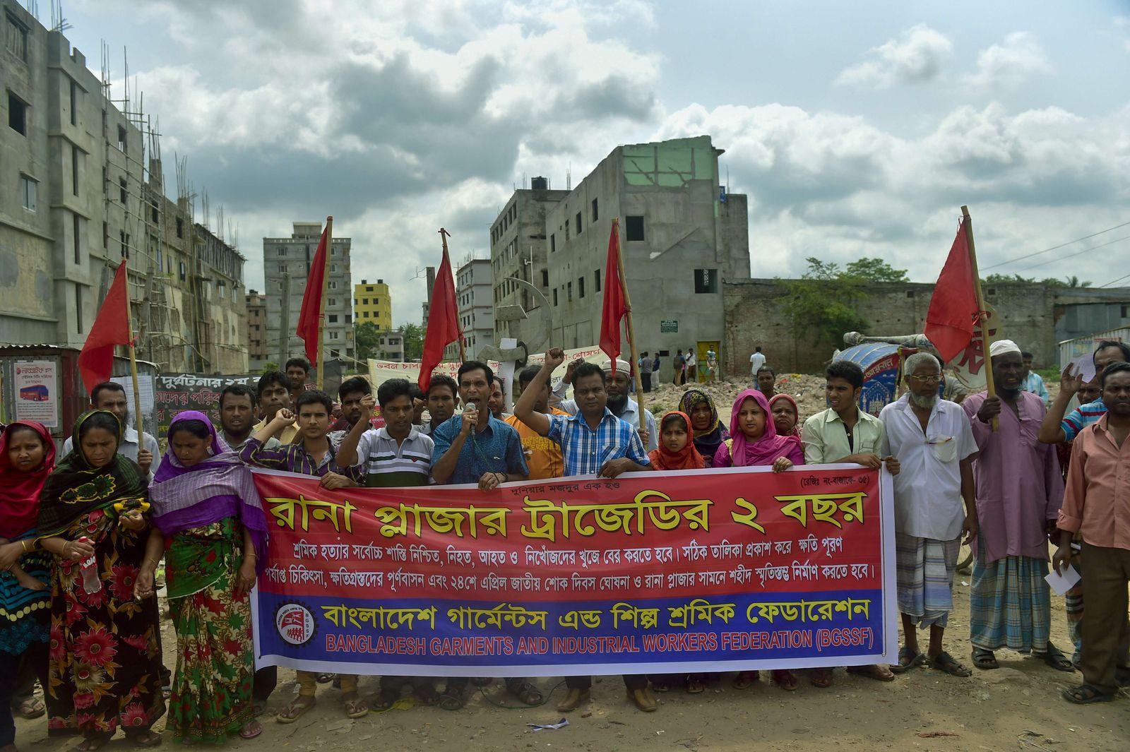 BANGLADESH-DISASTER-TEXTILE-MISSING