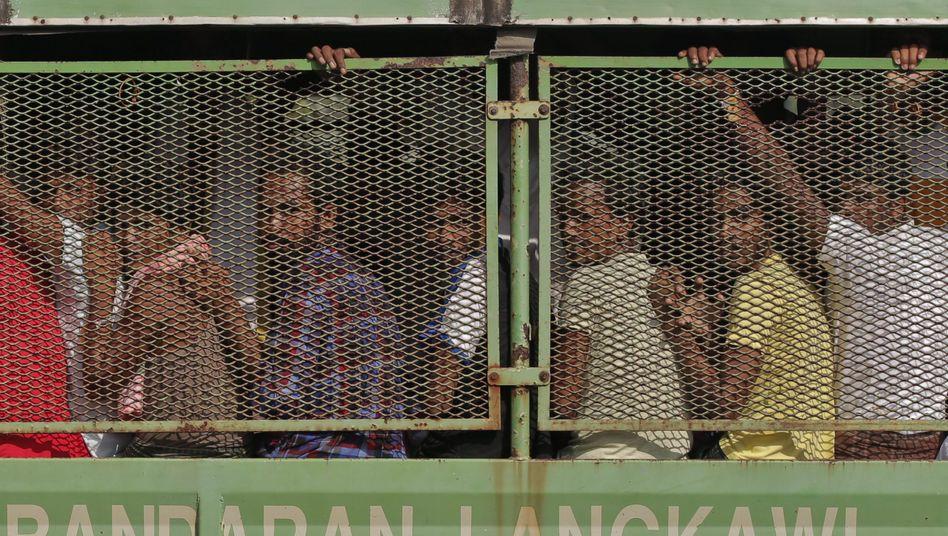 """Flüchtlinge in Langkawi: """"Wir waren sehr nett zu den Menschen"""""""