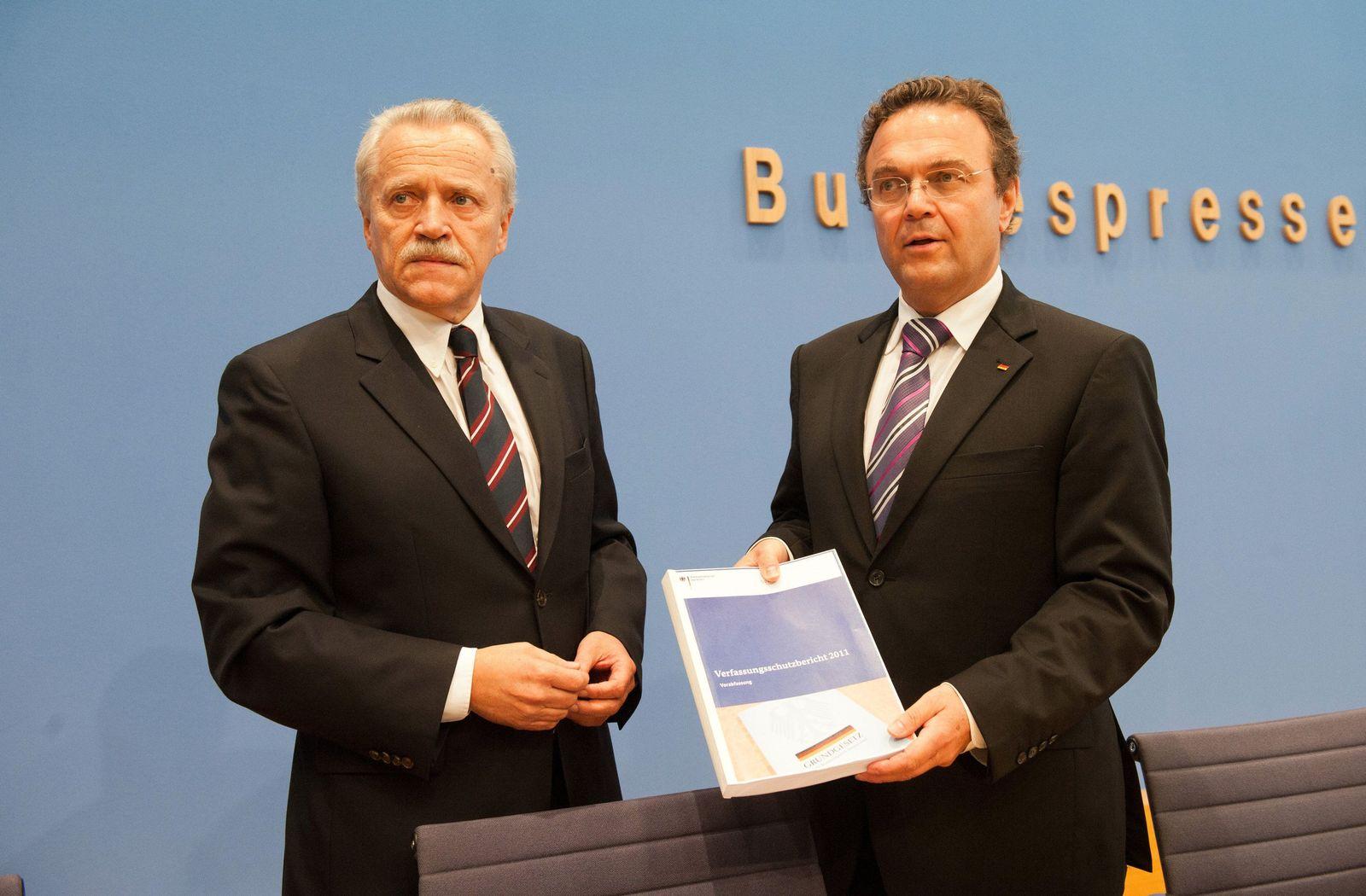 Heinz Fromm und Hans-Peter Friedrich
