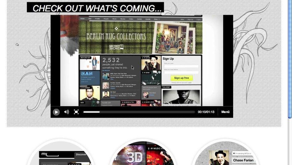 MySpace: Neuausrichtung als Entertainment-Netzwerk