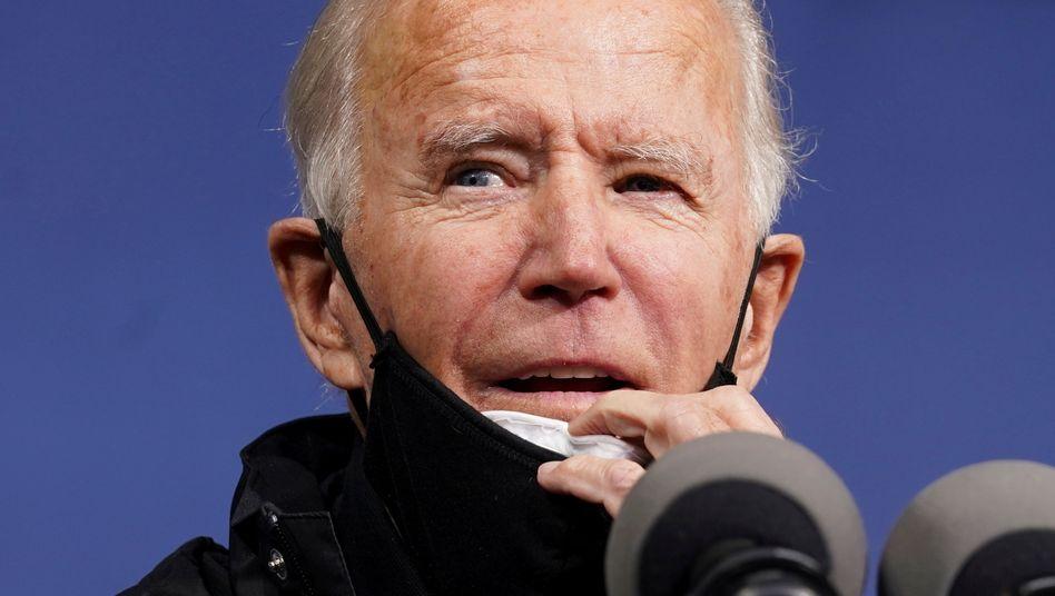Joe Biden (am 1. November): Klare Worte in Richtung des Nochpräsidenten