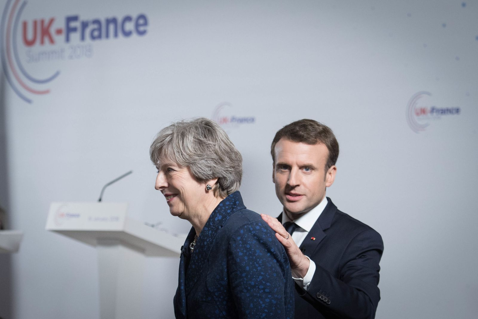 Theresa May / Emmanuel Macron