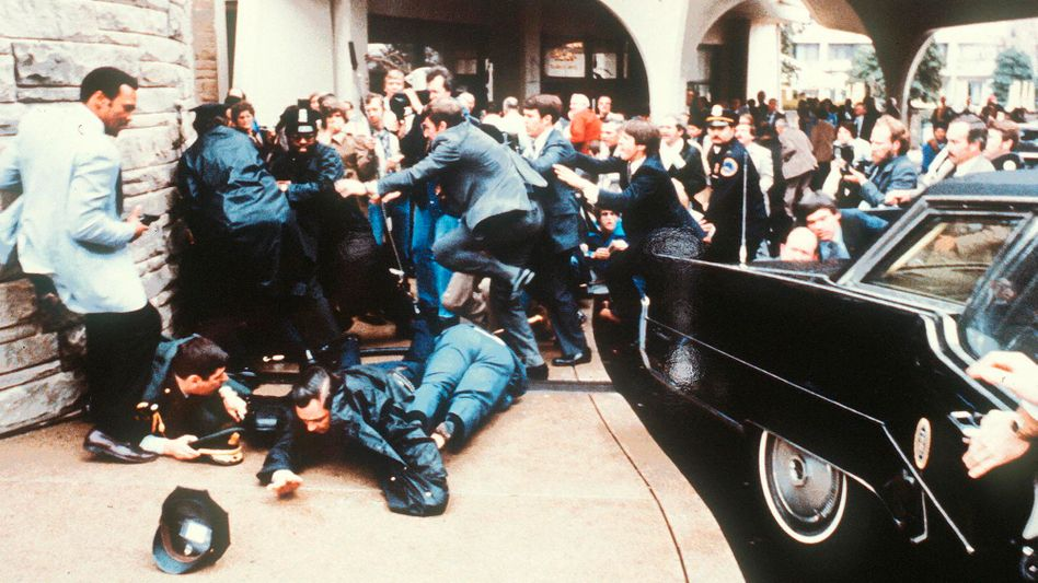 Angriff auf Ronald Reagan (am 30. März 1981)