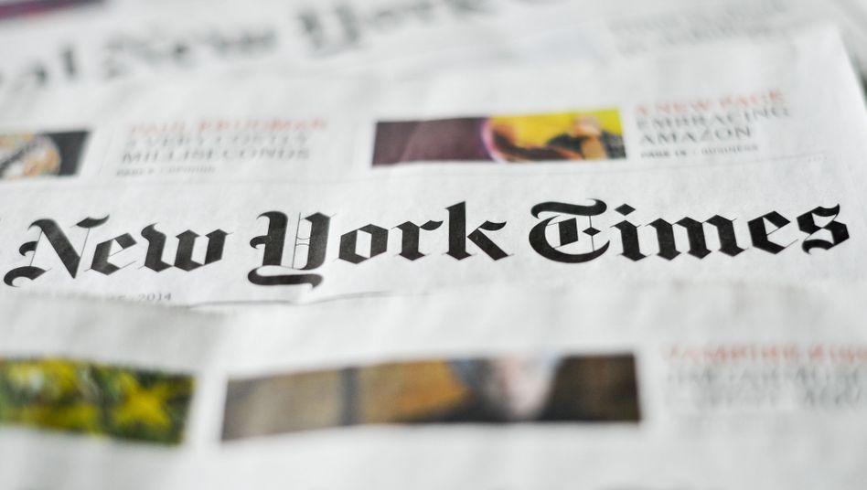 """Gedruckte """"New York Times"""": 2014 übernahm Dean Baquet die Chefredaktion"""