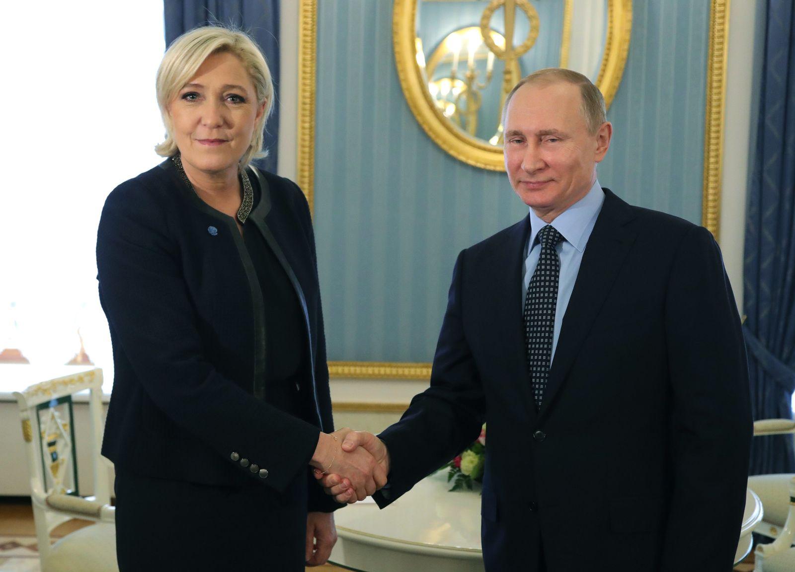 Le Pen / Putin