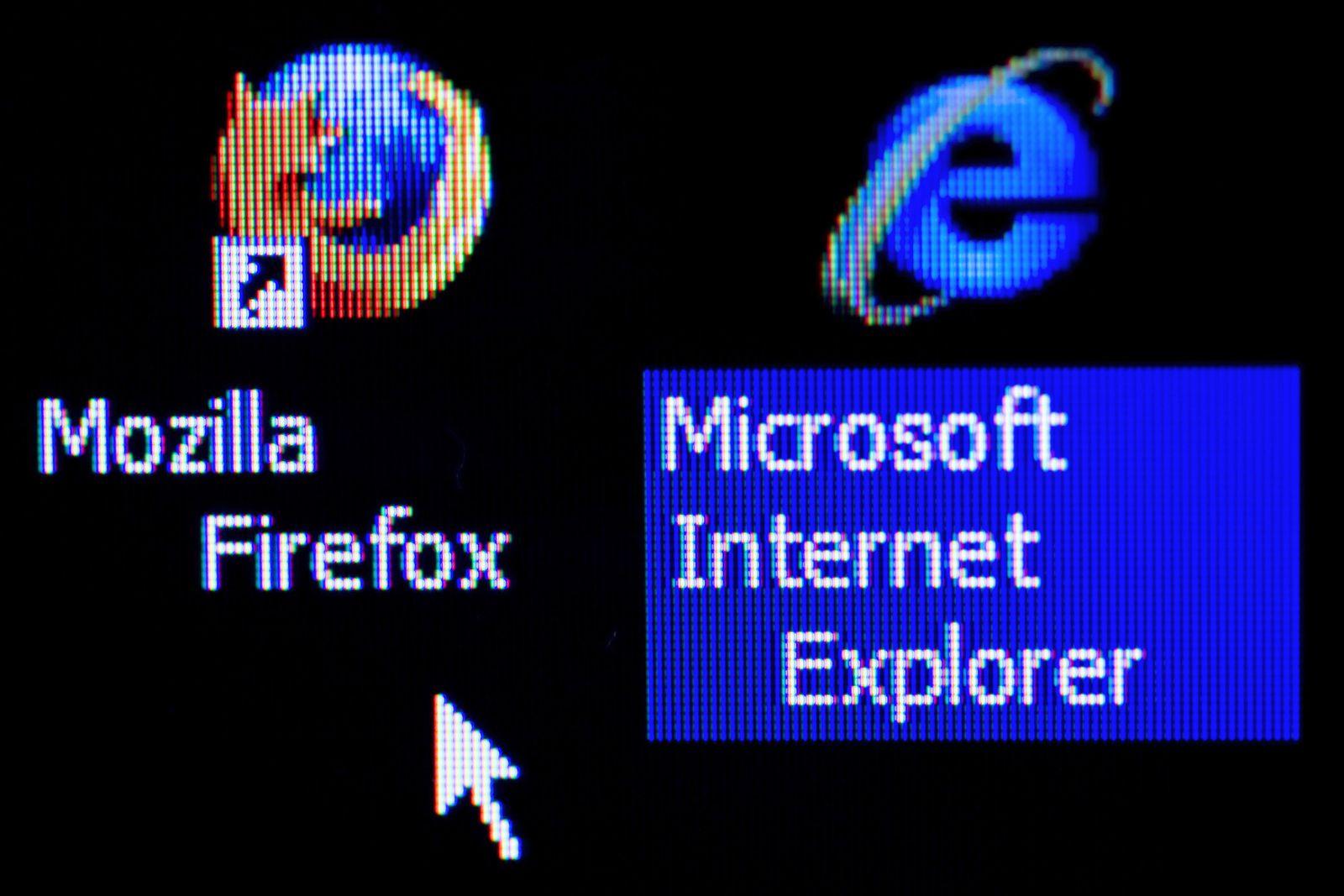 Internetbrowser Firefox und Internet Explorer