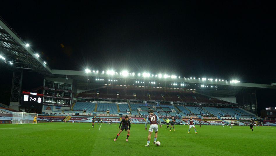 Premier-League-Spiel zwischen FC Liverpool und Aston Villa: Werden die ganz Großen bald noch mächtiger?