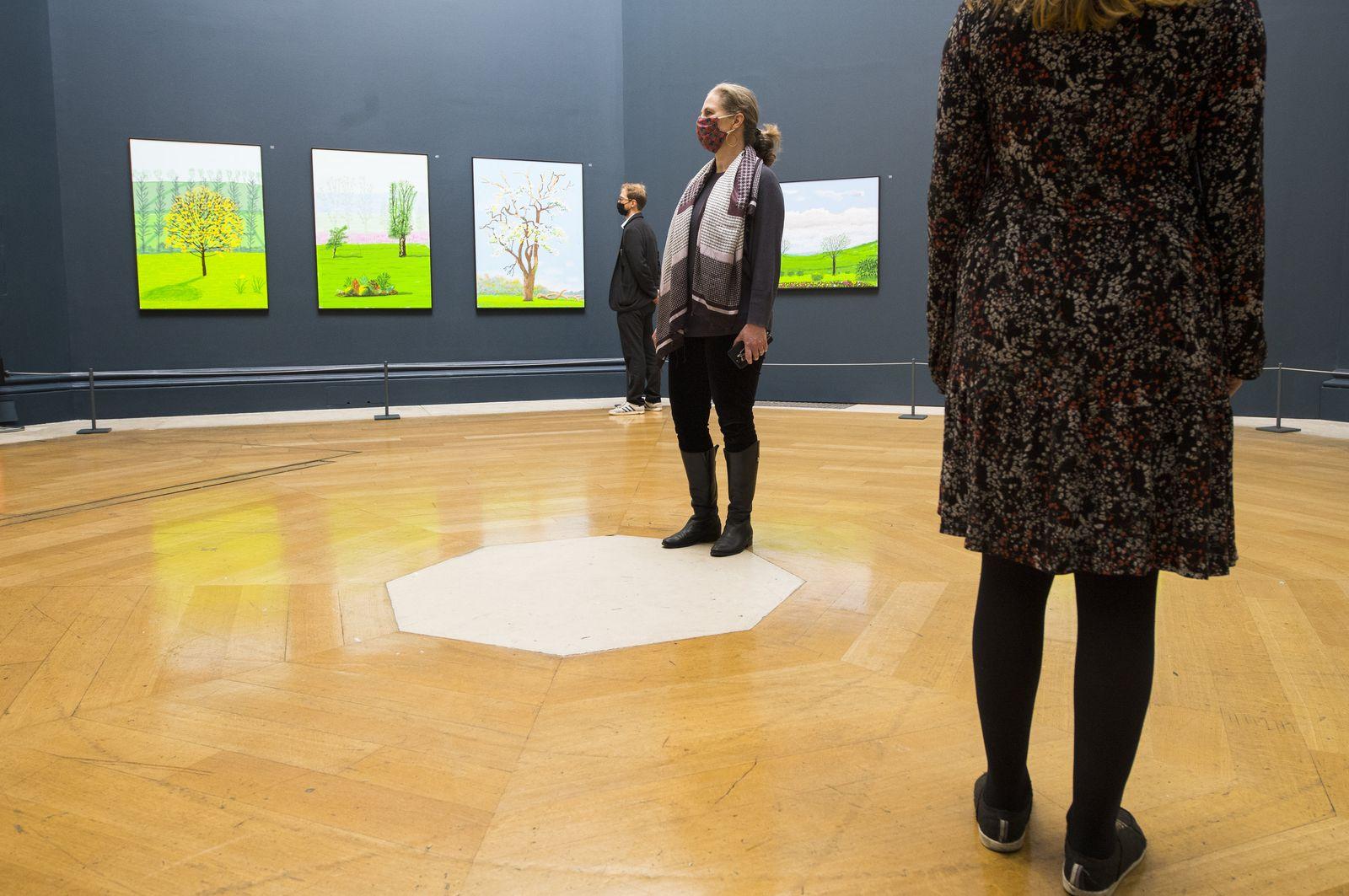Hockney-Ausstellung in der Royal Academy in London