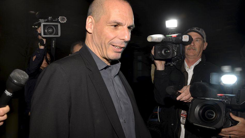 Griechenlands Finanzminister Varoufakis in Washington: Klare Forderung