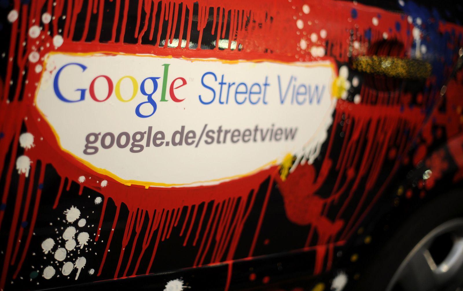 NICHT VERWENDEN Google Street View