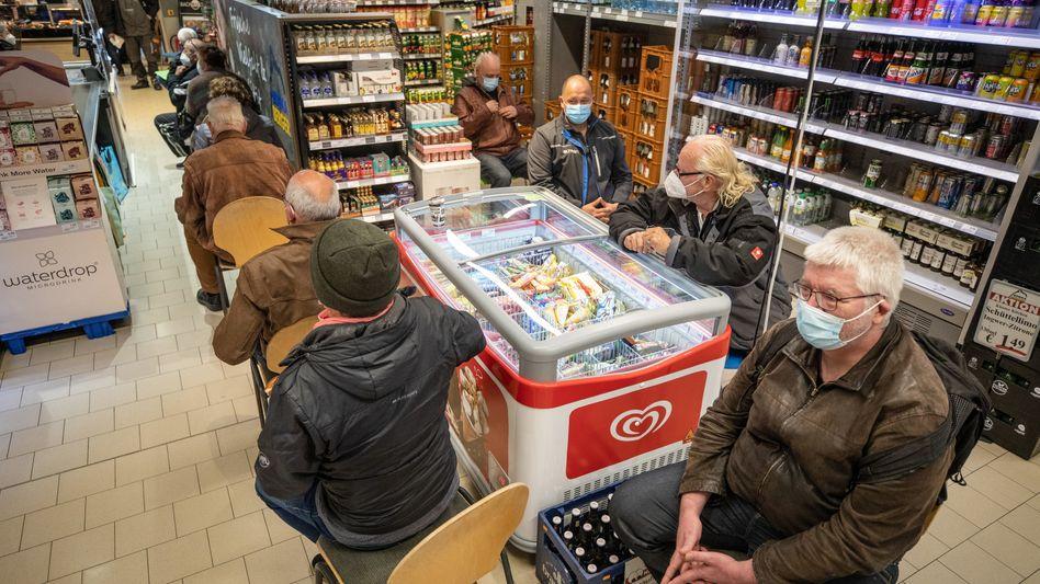 Impfaktion in einem Pforzheimer Supermarkt: Zaudernde reagieren schlecht auf klassische Werbung