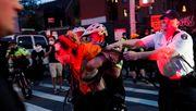 New Yorks Bürgermeister verurteilt harten Polizei-Einsatz in seiner Stadt