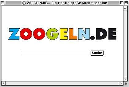 Ja: Hier gibt's die passende Zoogle-Oberfläche zu Google