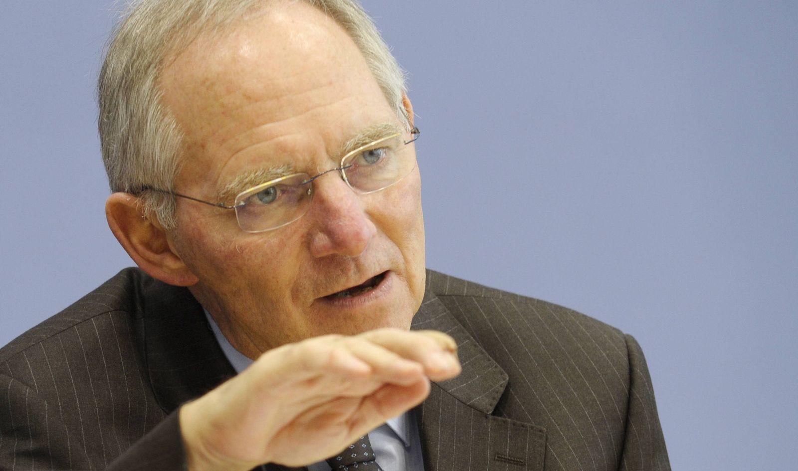 NICHT VERWENDEN Wolfgang Schäuble