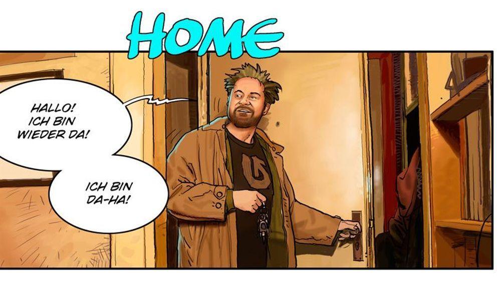 Jamiri-Comic: Herzlich willkommen!